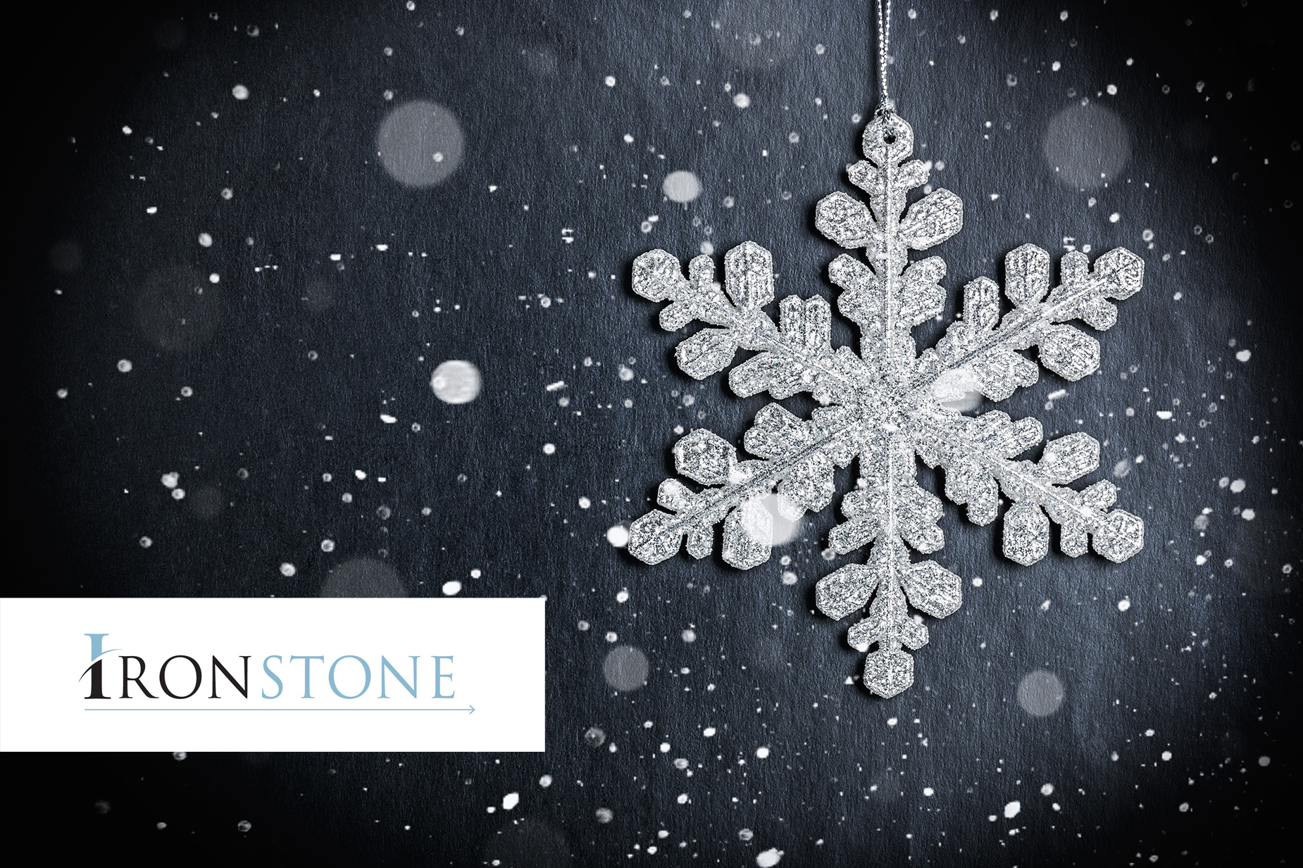 Happy Holidays from your Friends at Ironstone!