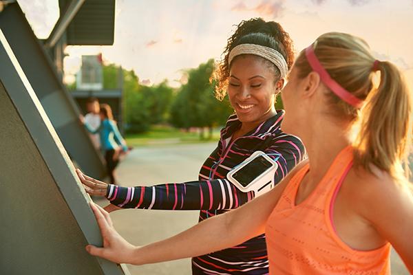 Millennial Employees Exercising